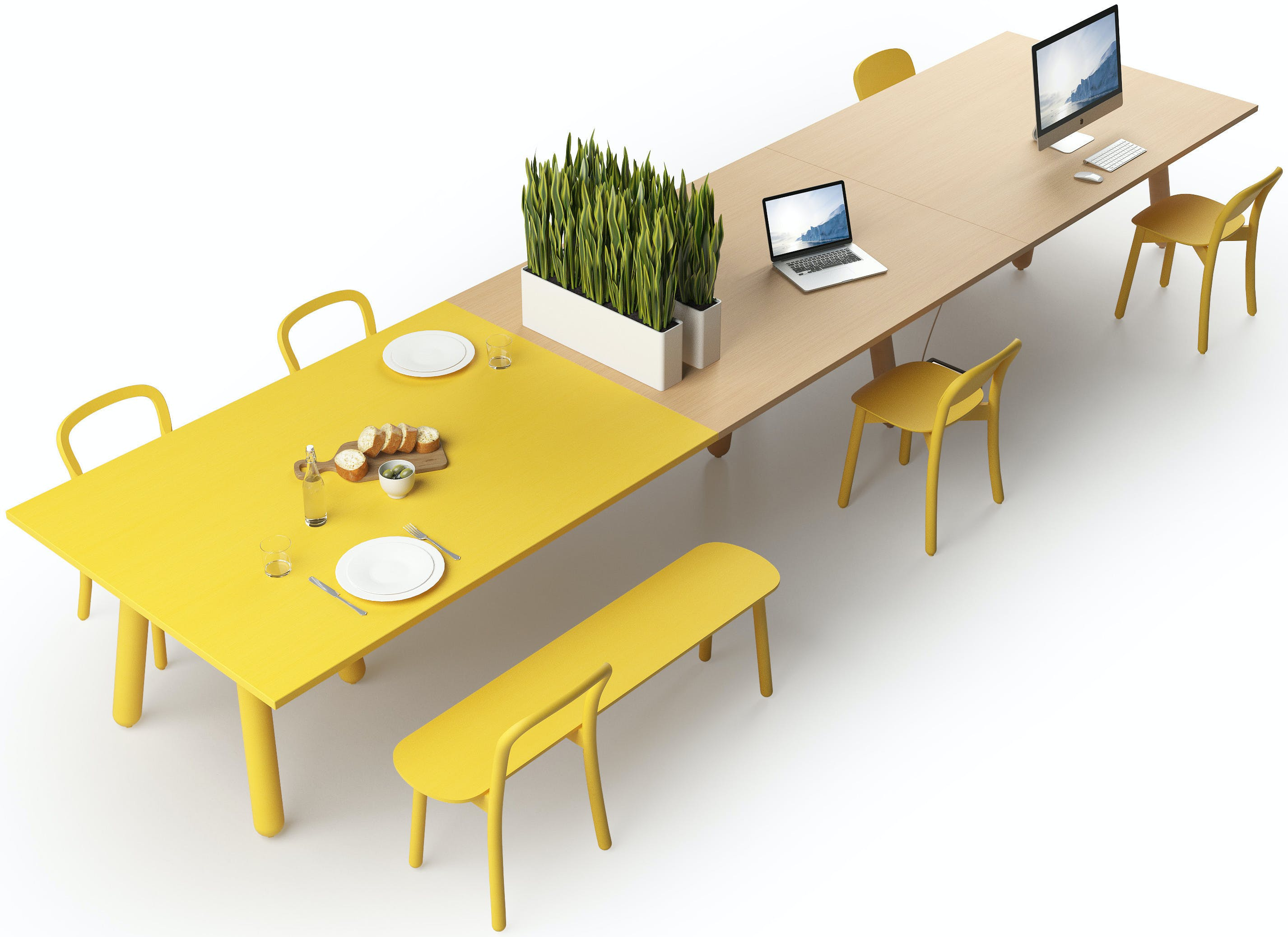 Dum-furniture-tan-yellow-beech-connect-haute-living