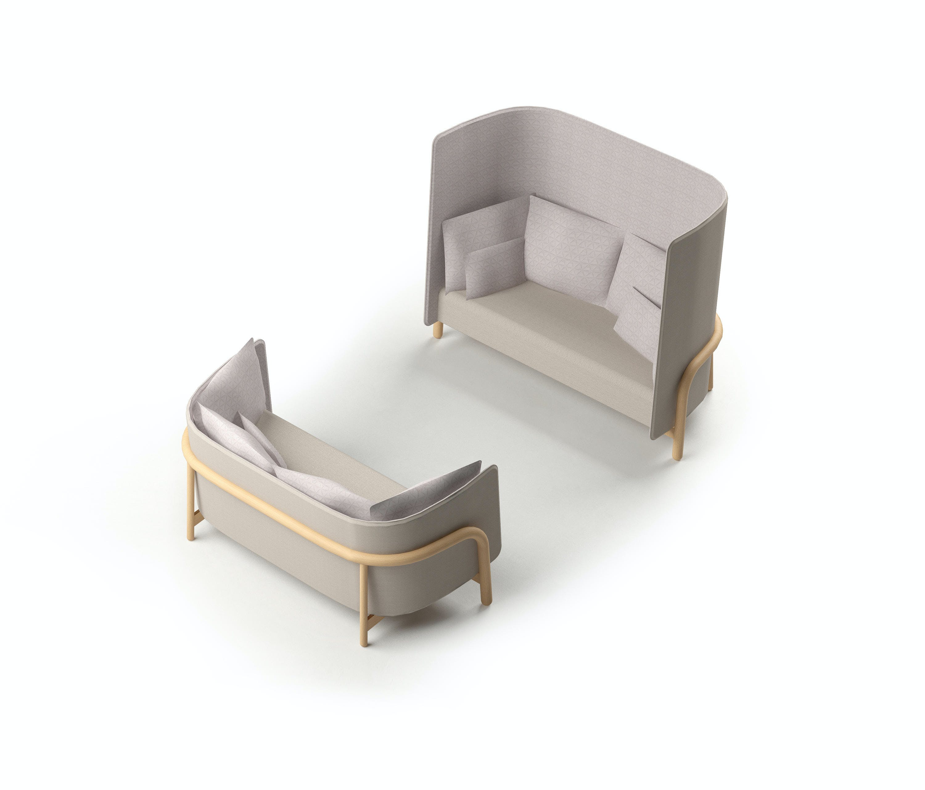 Beech Private 2 Bench 2 B