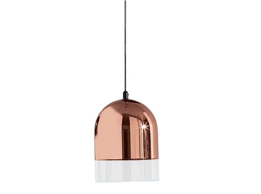 Discipline Bell Lamp Rosegold Haute Living