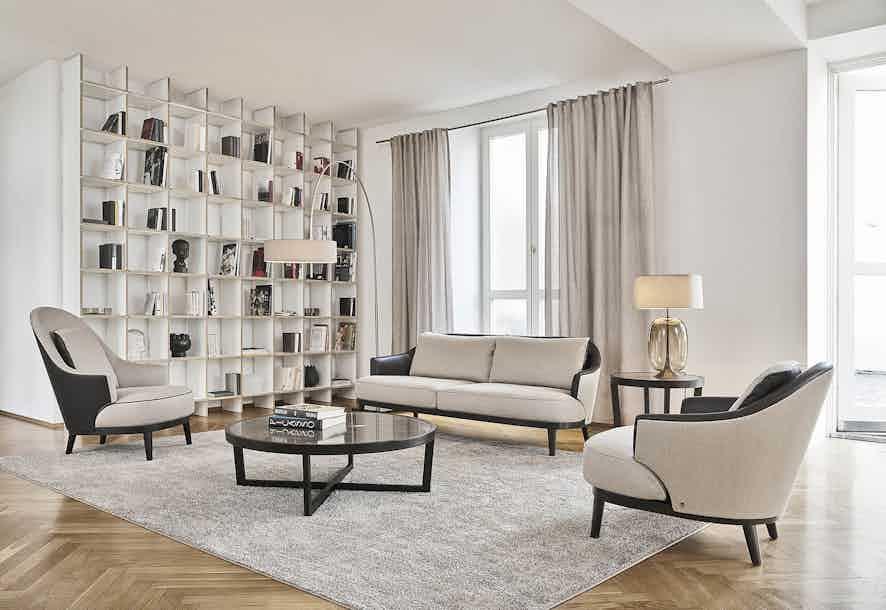 Jab Anstoetz Bellini Sofa Angle Insitu Haute Living