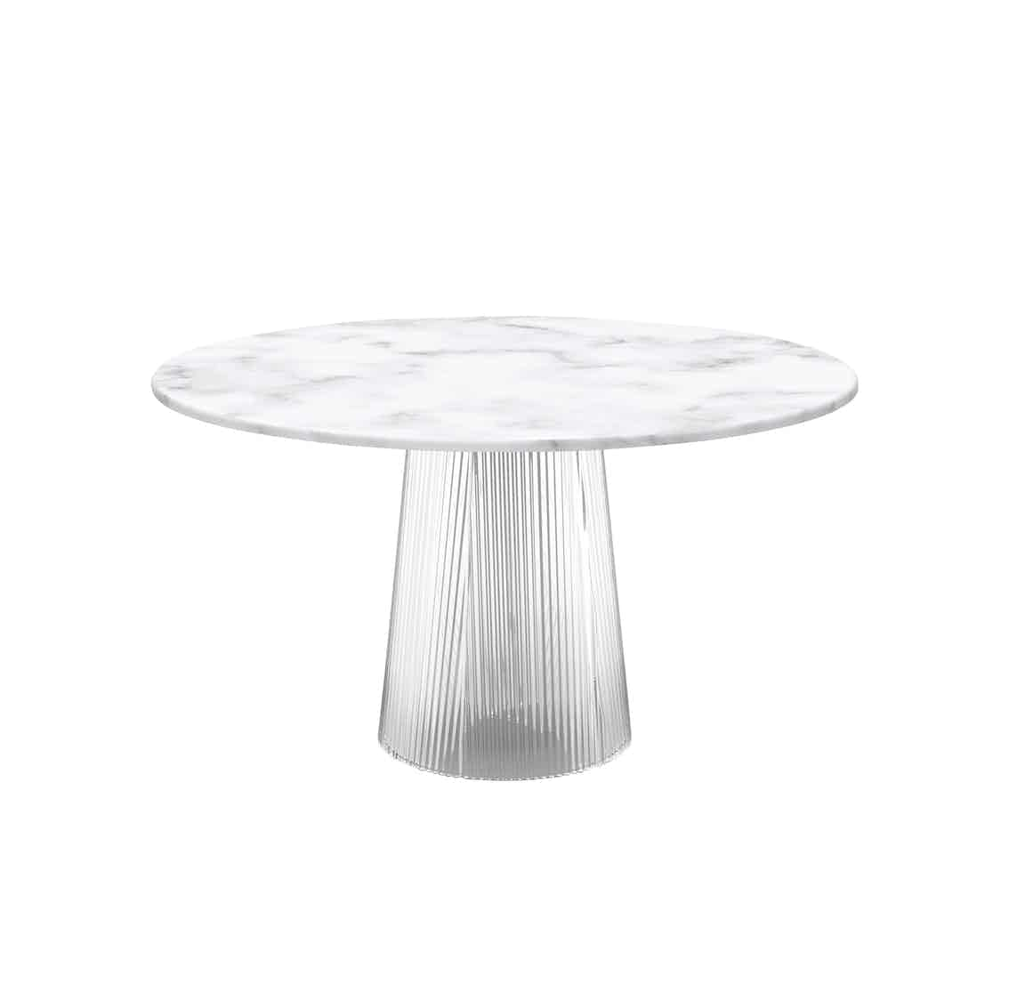 Pulpo-bent-dining-table-white-top-haute-living