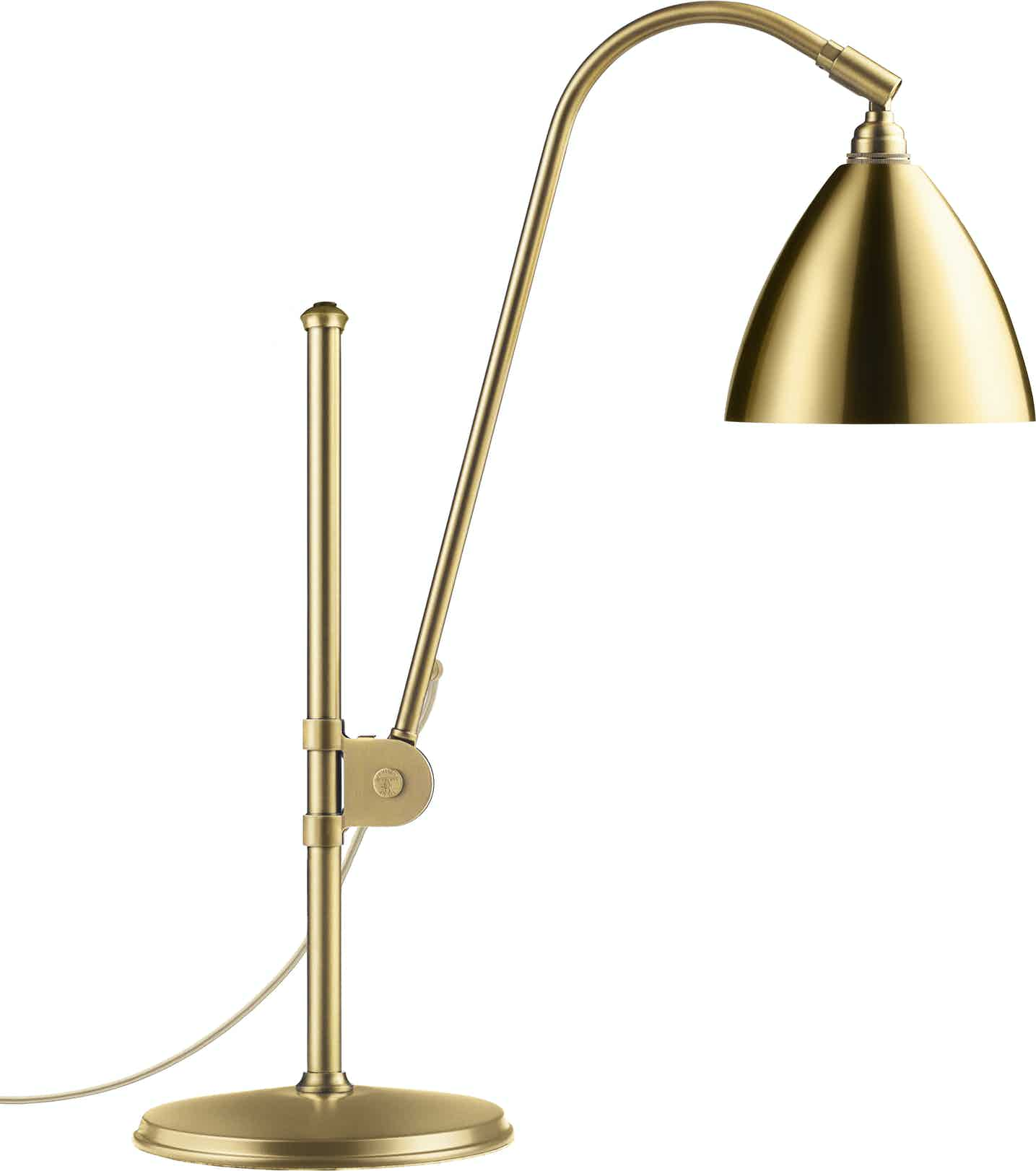 Gubi Bl1 Table Lamp Brass Haute Living