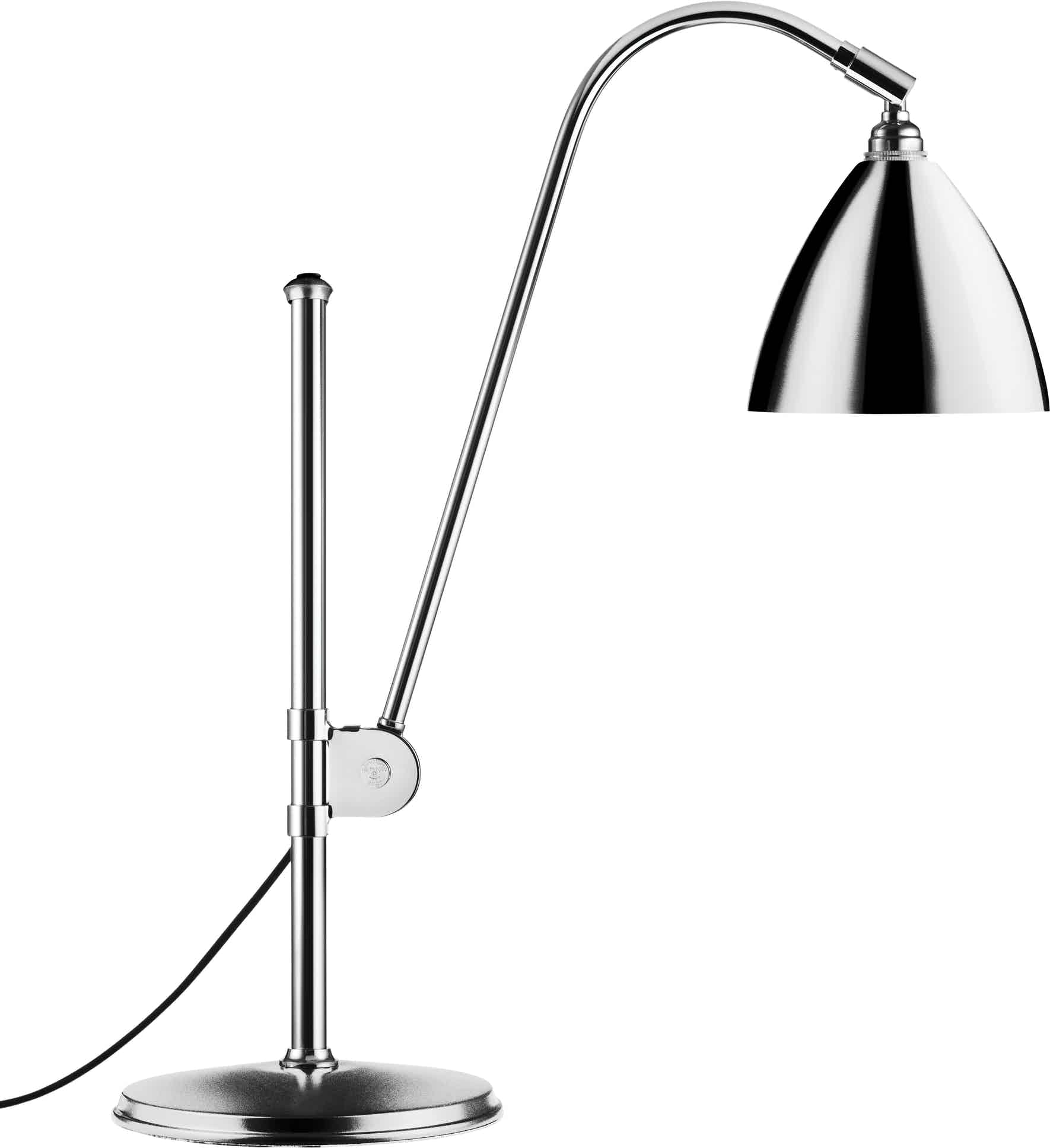 Gubi Bl1 Table Lamp Chrome Haute Living