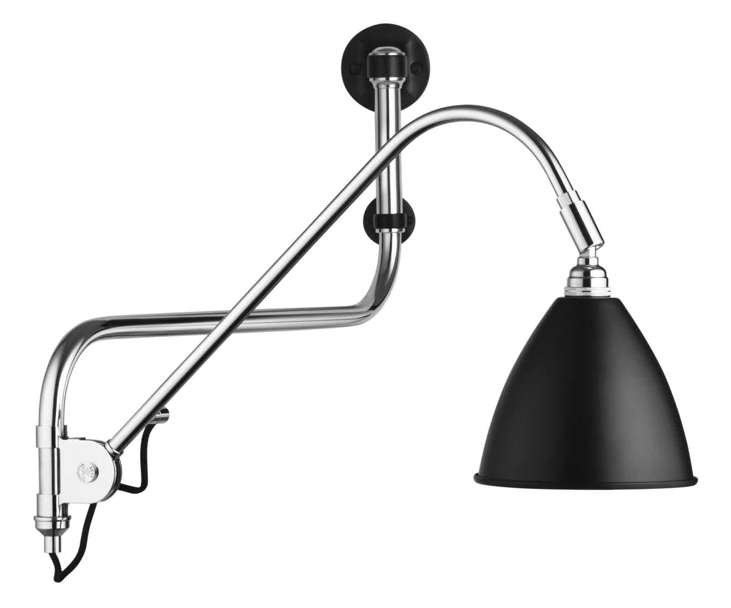 Gubi Bl10 Wall Lamp Black Thumb Haute Living