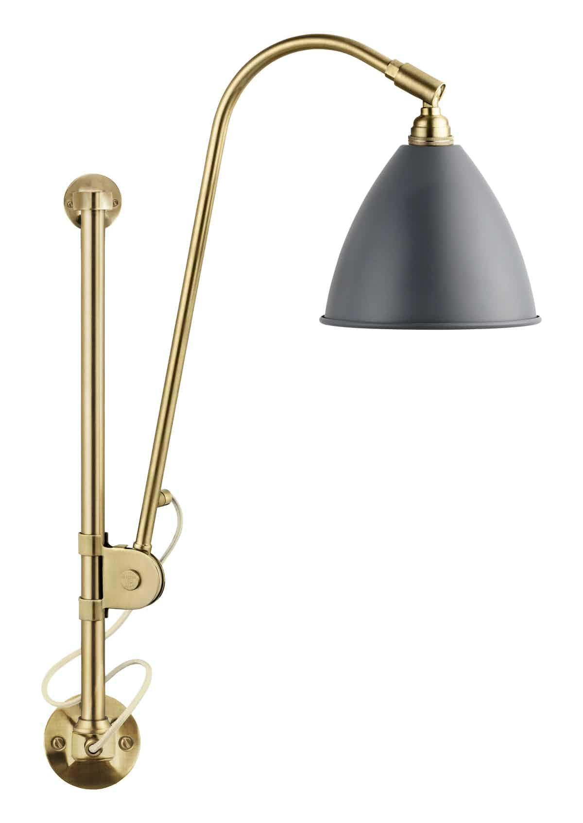Gubi Bl5 Wall Lamp Brass Grey Thumb Haute Living