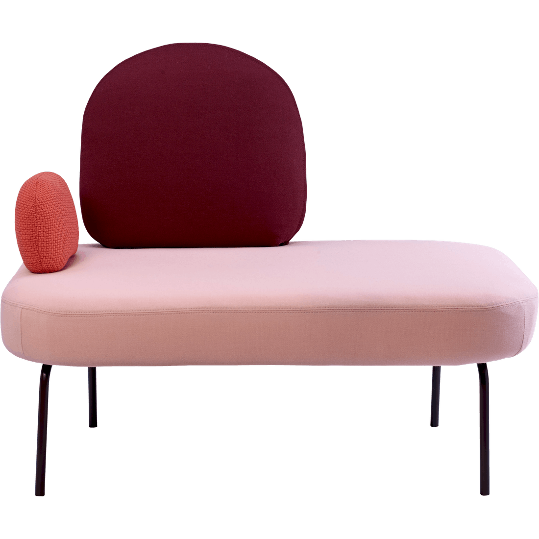 bolia pink between sofa haute living