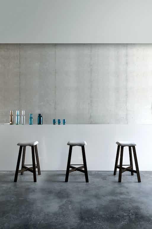 Punt Furniture Bevel Insitu White Trio Haute Living