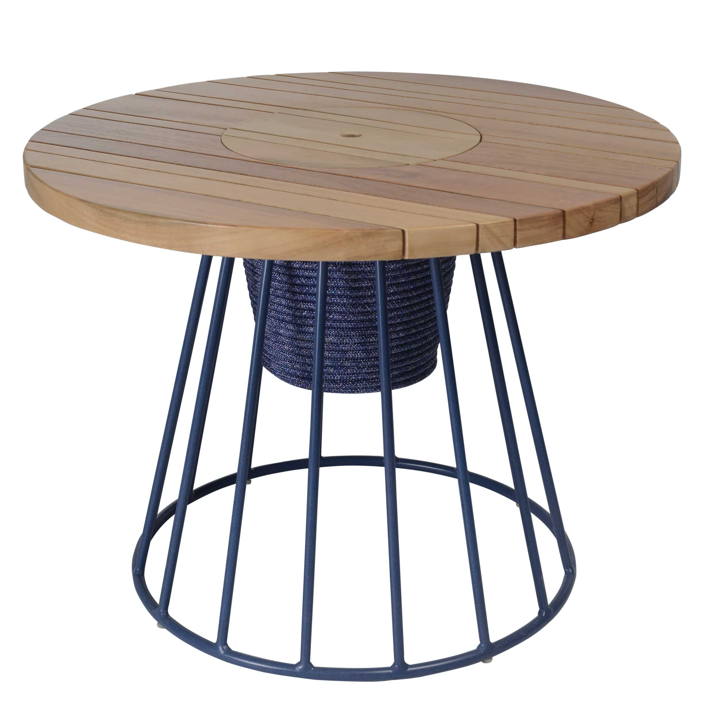 Tidelli biarritz auxiliary table haute living