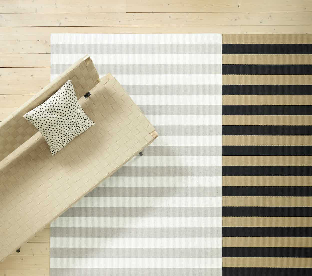 Woodnotes-big-stripe-carpet-neutral-insitu-haute-living