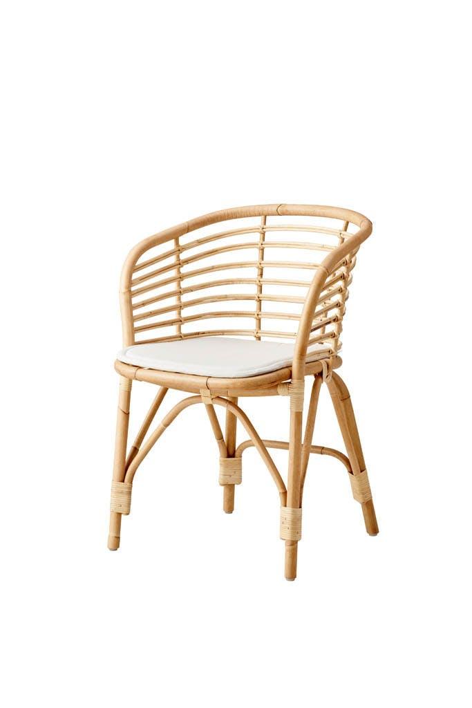 Blend Chair Natrual W Cushion Offwhite 1