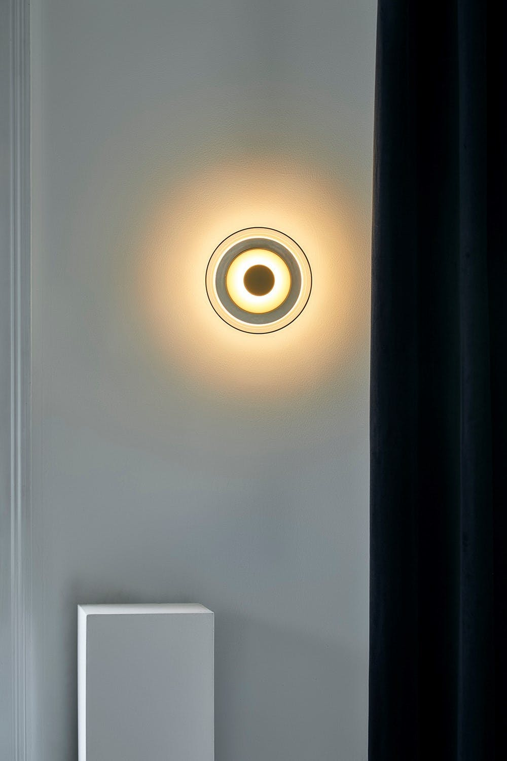 nuura blossi wall lamp on haute living