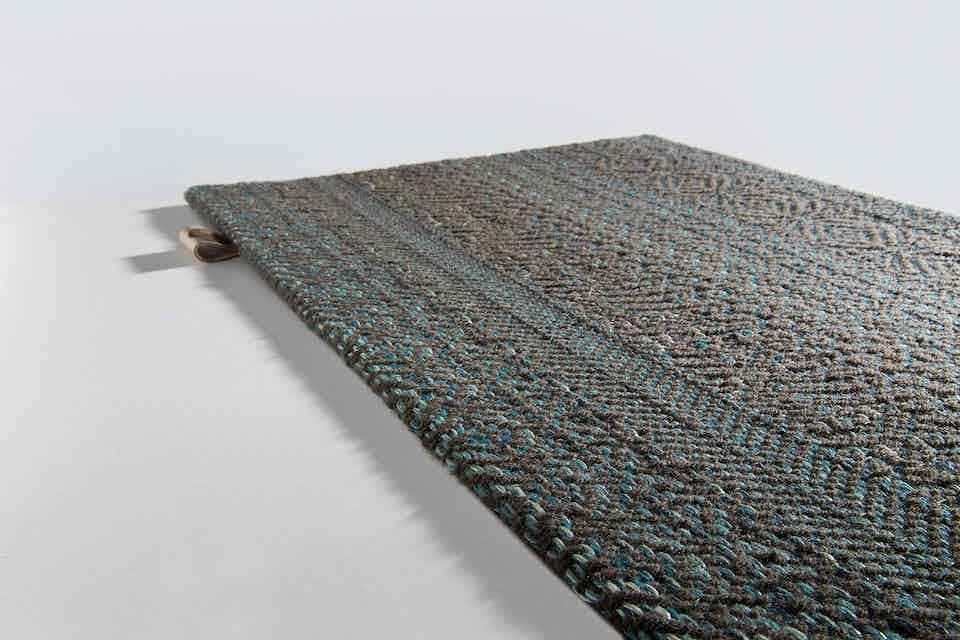 Limited Edition Rugs Bohemian Rug Aqua Haute Living