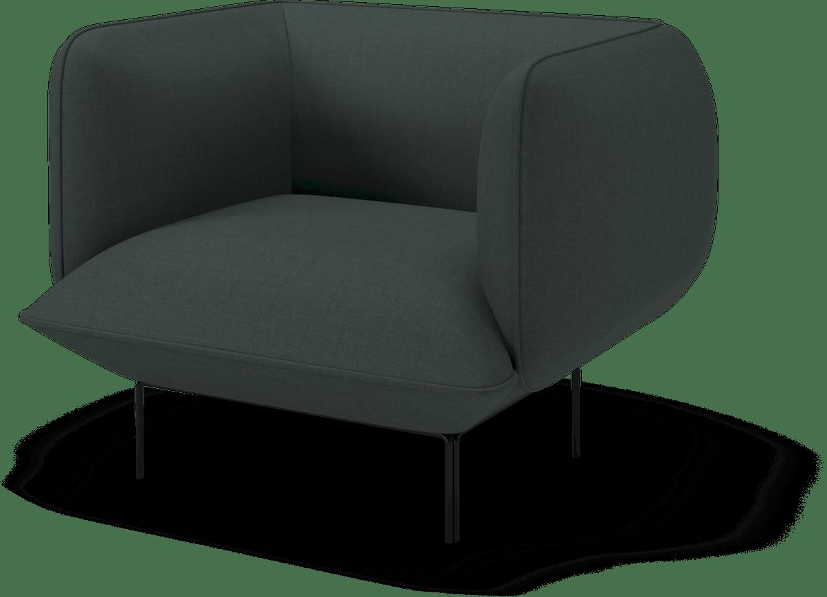 bolia green cloud armchair haute living