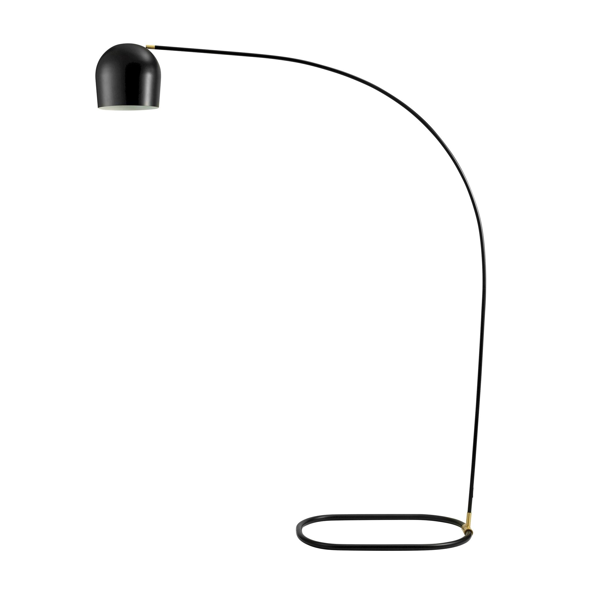 Circle Floor Lamp Black