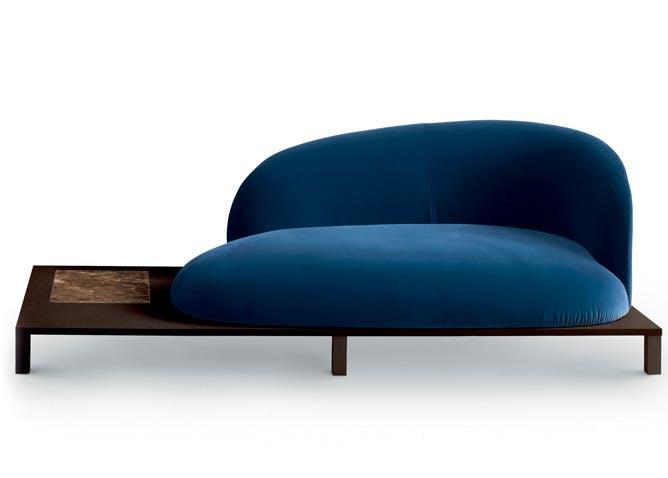 Onsai Sofa Haute Living Blue With Table 2