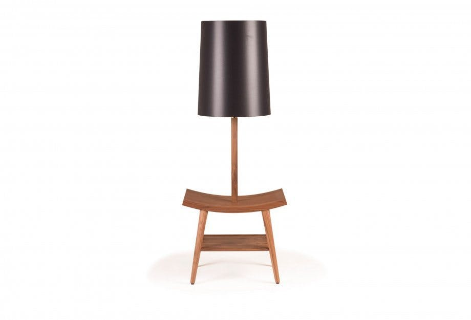 Booklamp Brown