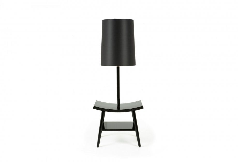 Booklamp Black 2