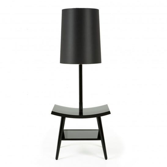 De La Espada Autoban Book Lamp Black Haute Living