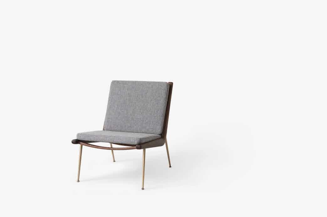 Andtradition boomerang lounge chair hm1 hallingdal haute living