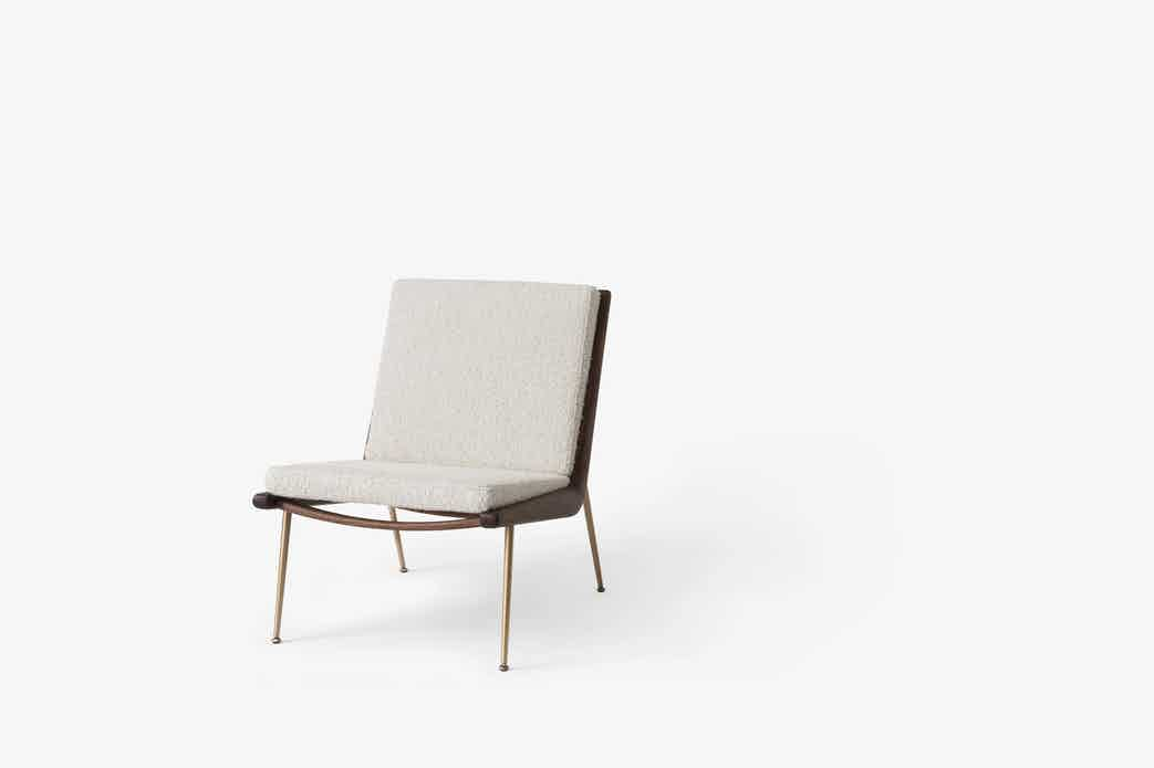 Andtradition boomerang lounge chair hm1 serafino haute living