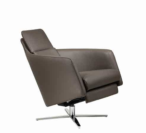 Jab Anstoetz Reclined Boss Armchair Haute Living
