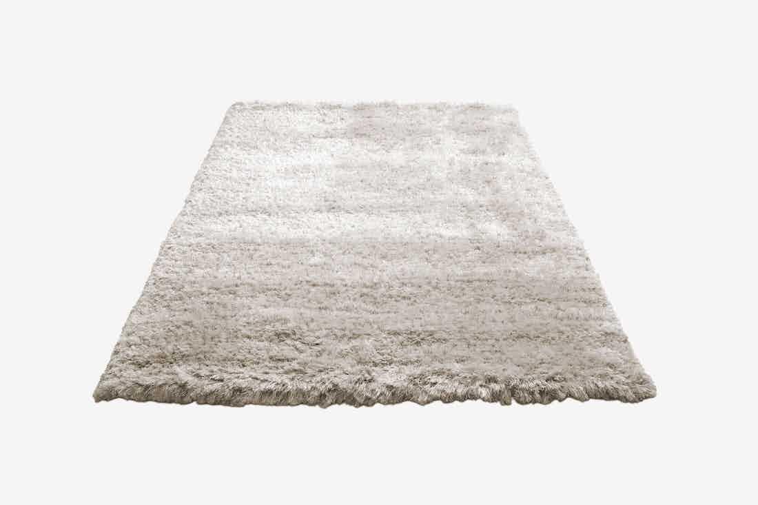 Bolia bossa rug large white haute living