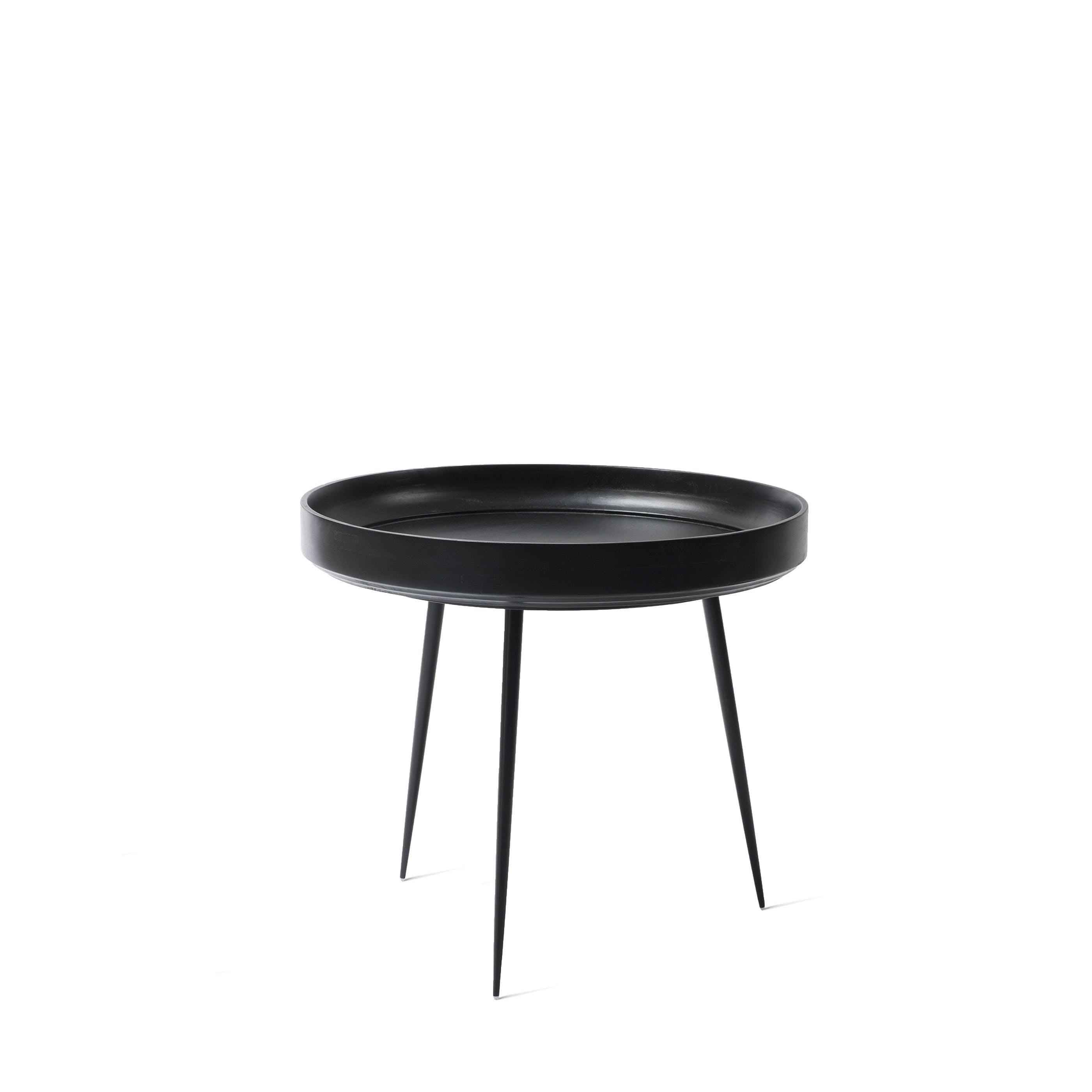 Mater Black Large Bowl Table Haute Living