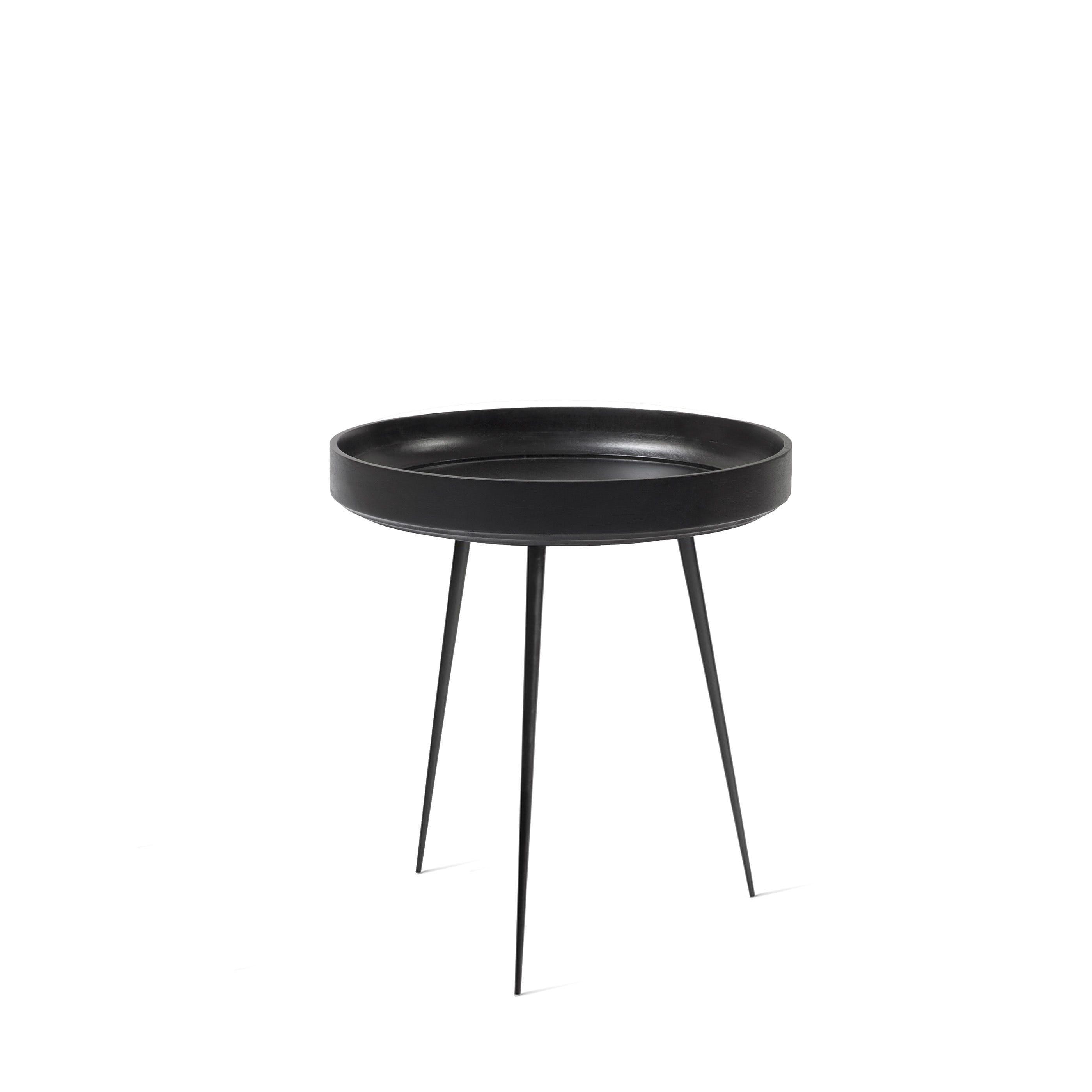 Mater Black Medium Bowl Table Haute Living
