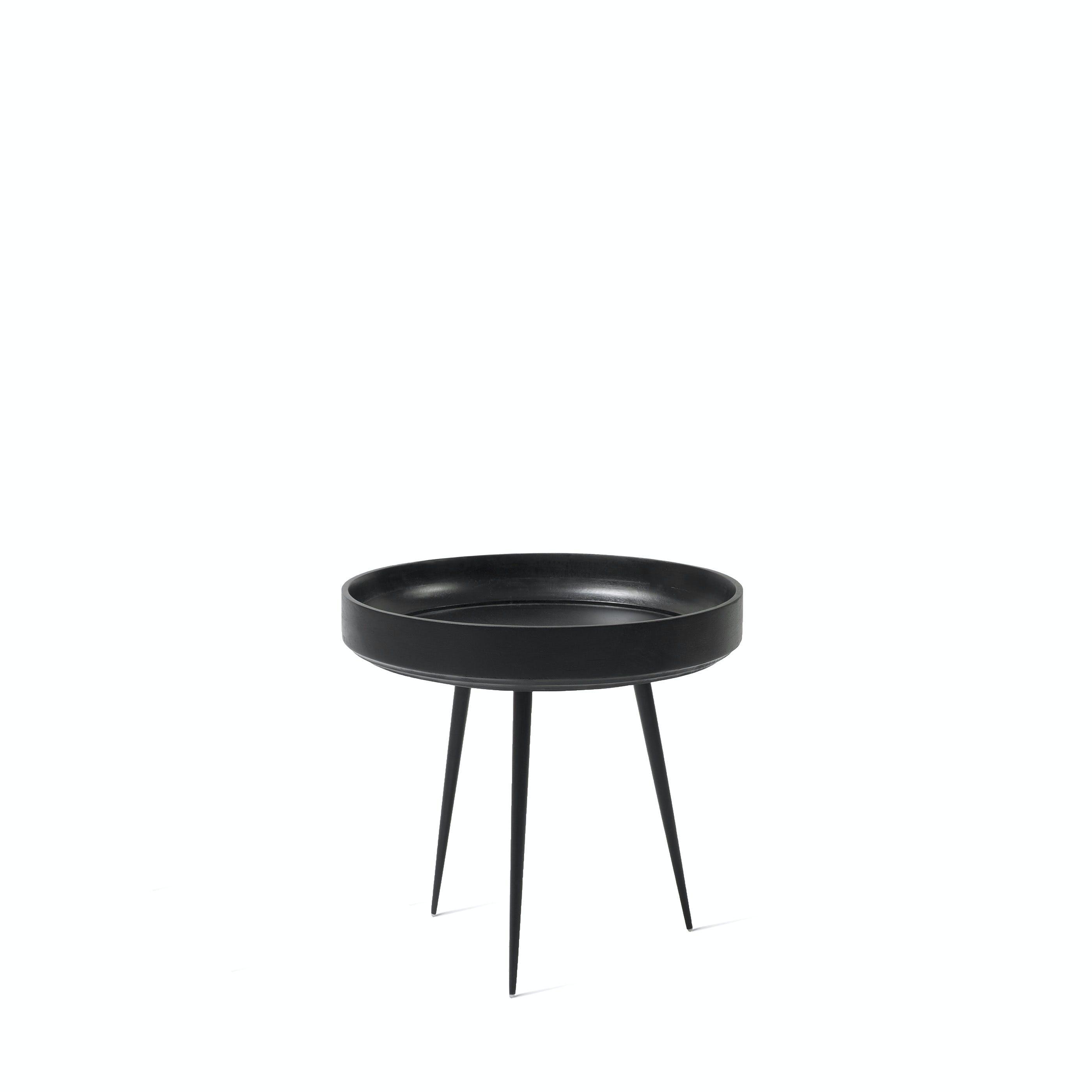 Mater Black Small Bowl Table Haute Living