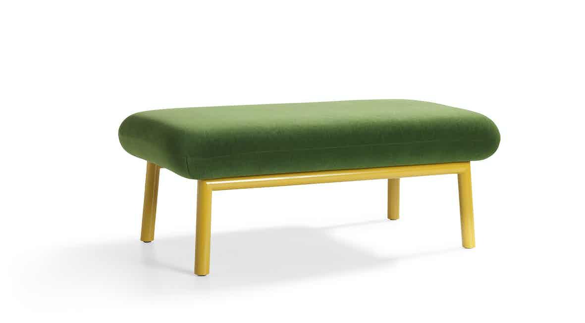 Artifort Green Bras Ottoman