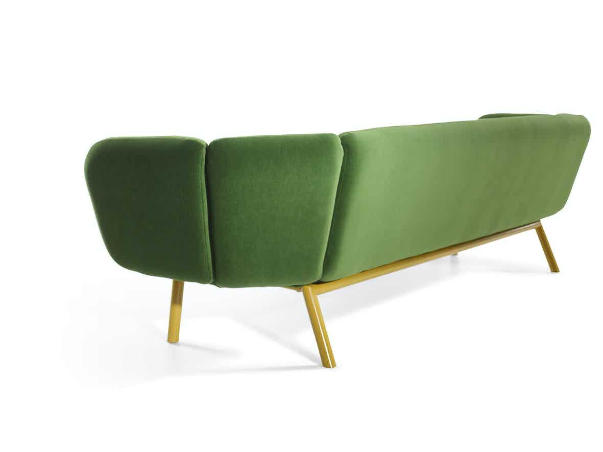 Artifort Green Bras Sofa Back