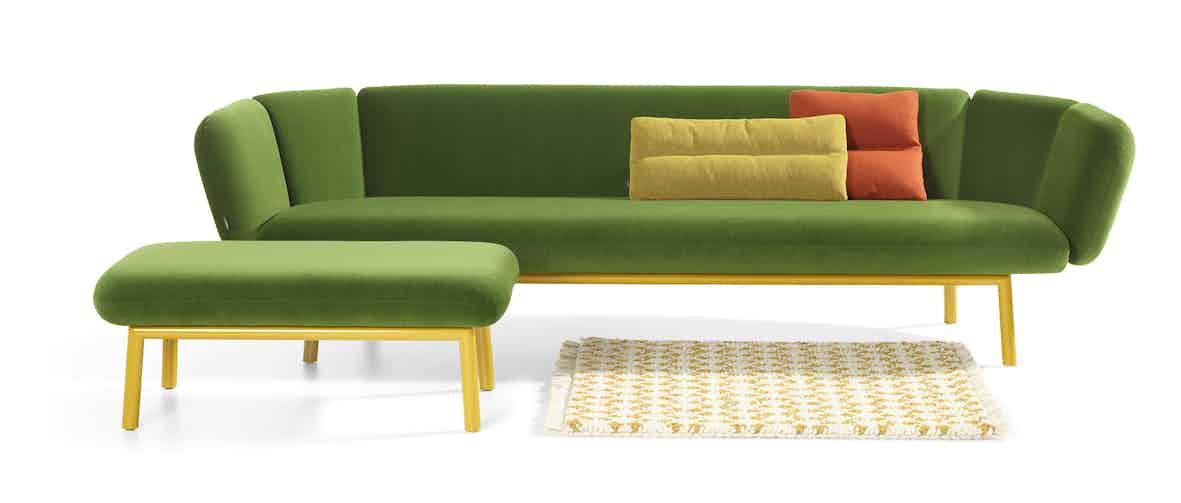Artifort Green Bras Sofa In Situ