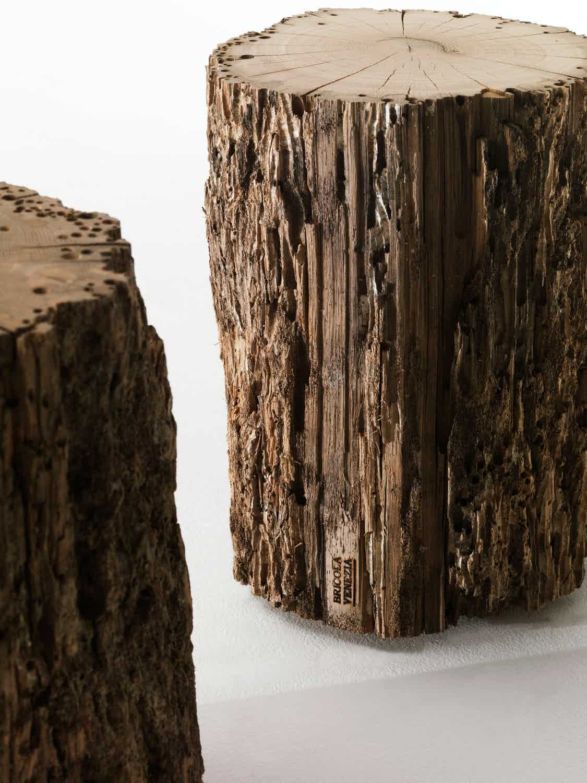 Riva 1920 bricola venezia stool wood haute living