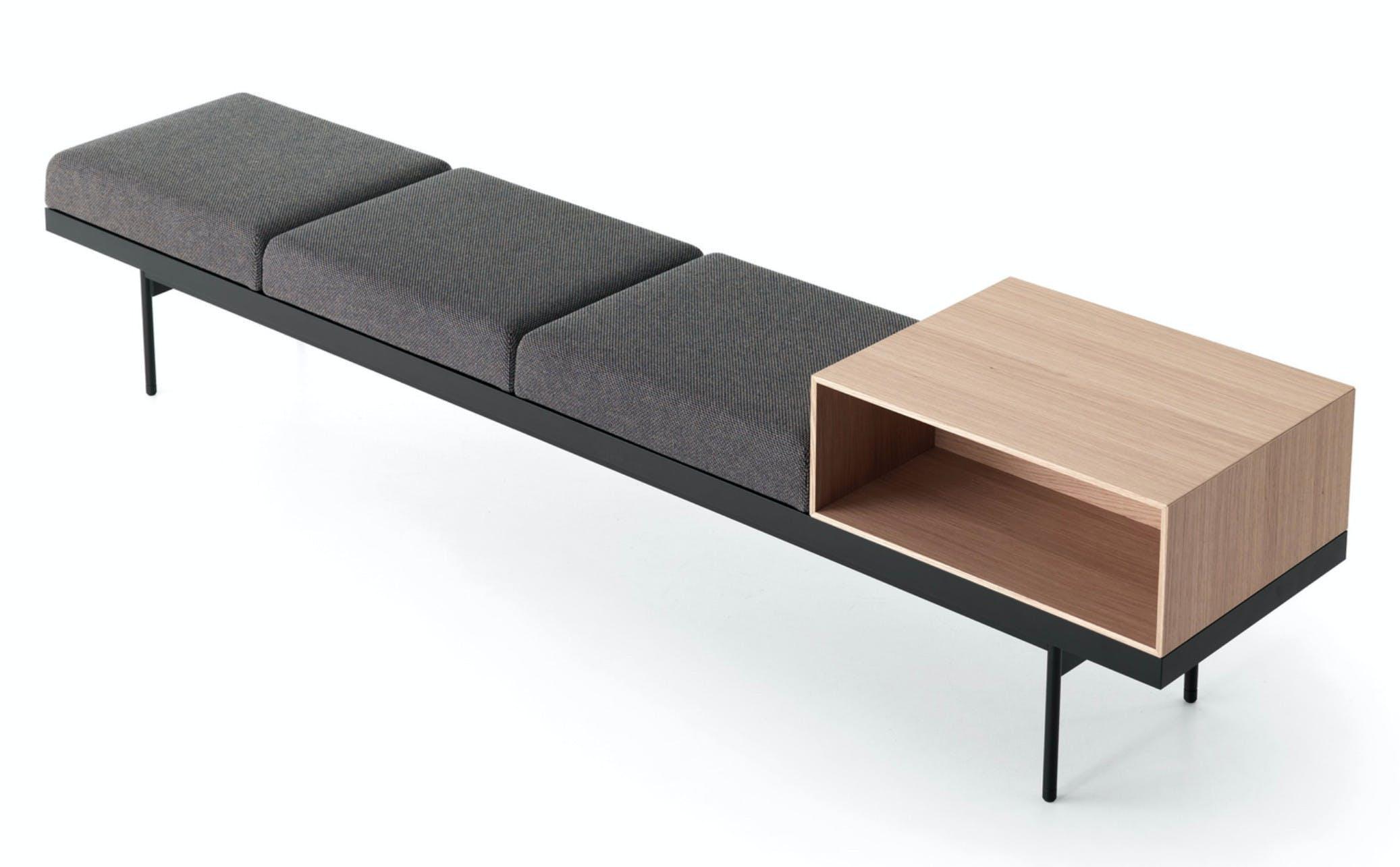 Caccaro Brick System Bench Haute Living