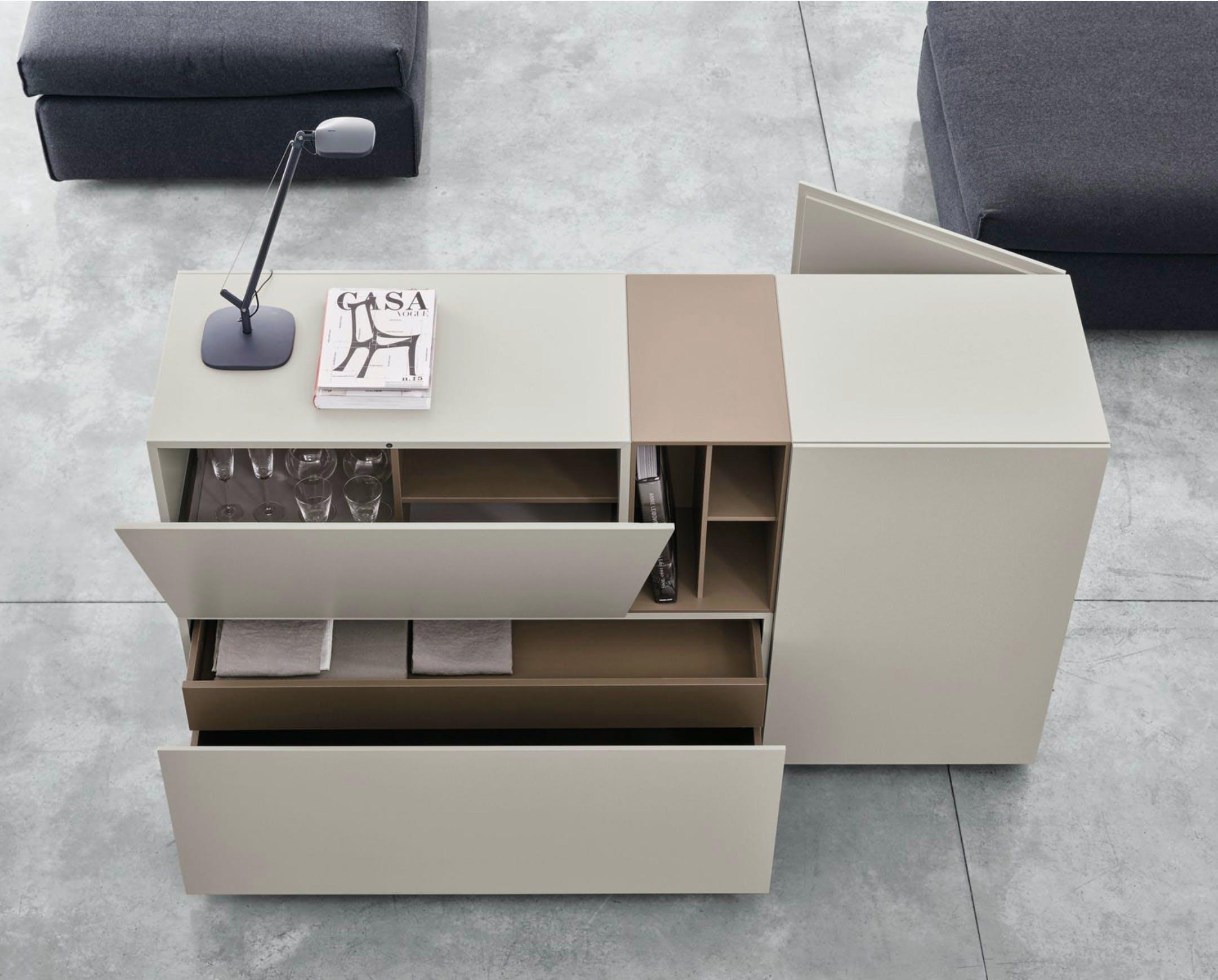 Caccaro Brick System White Haute Living