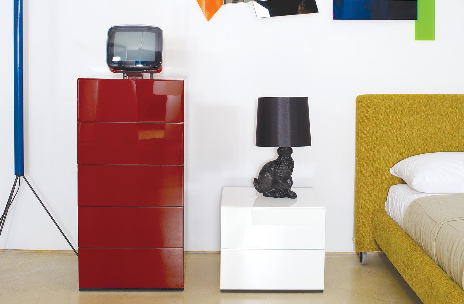 Bensen Brix Dresser Nightstand