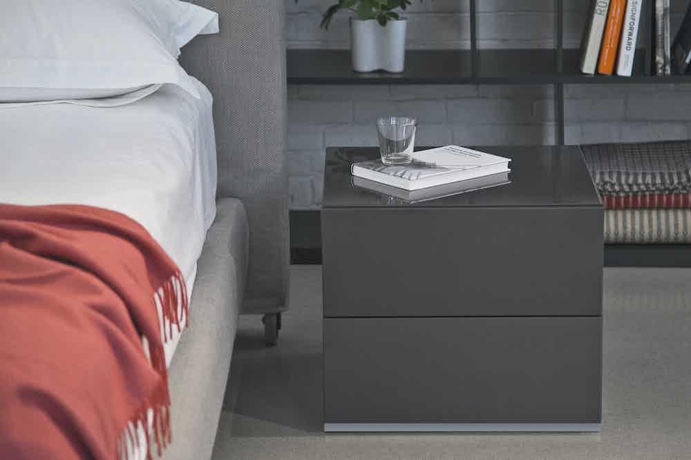 Bensen brix system nightstand haute living