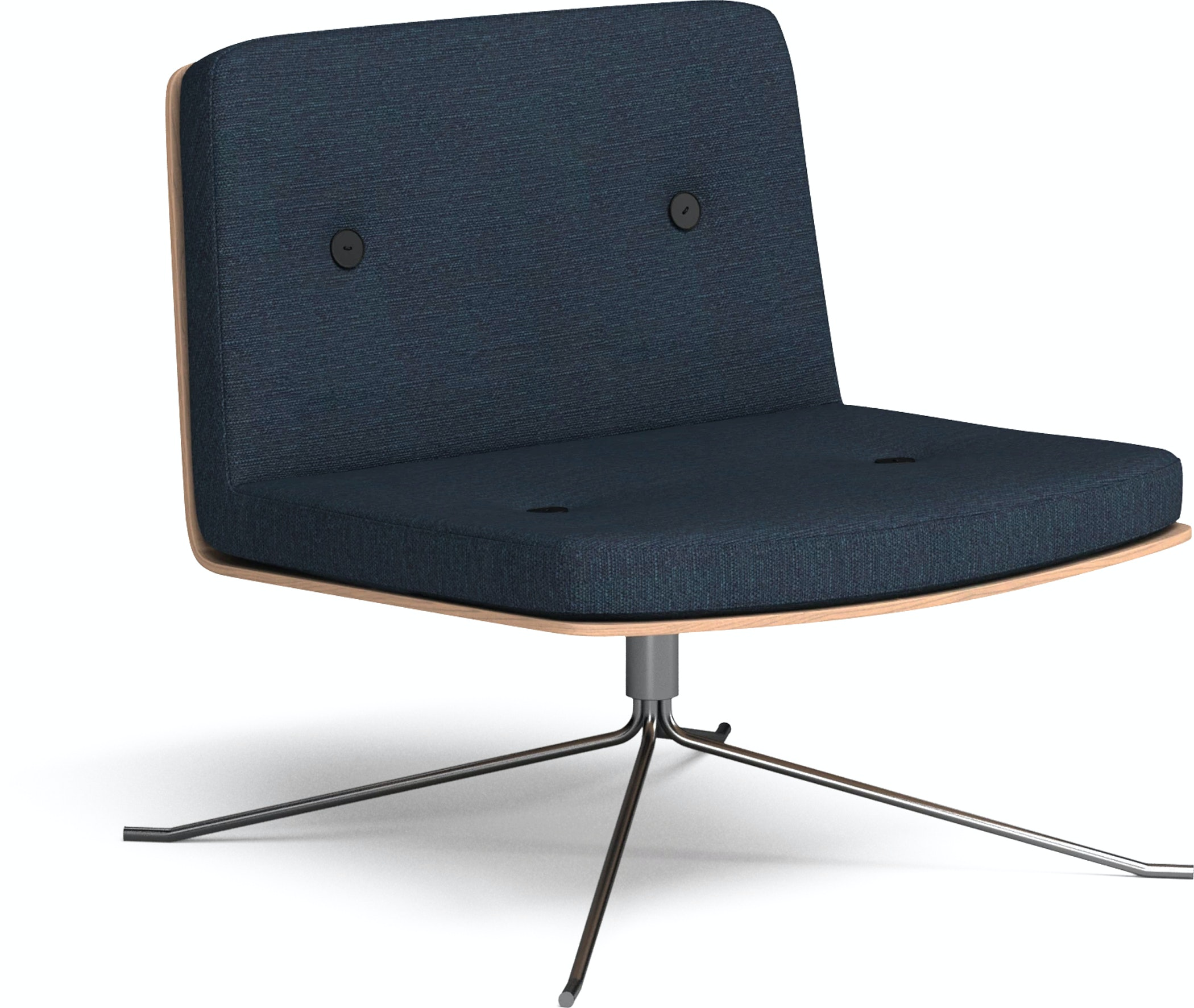Bullet Lounge Chair Navy