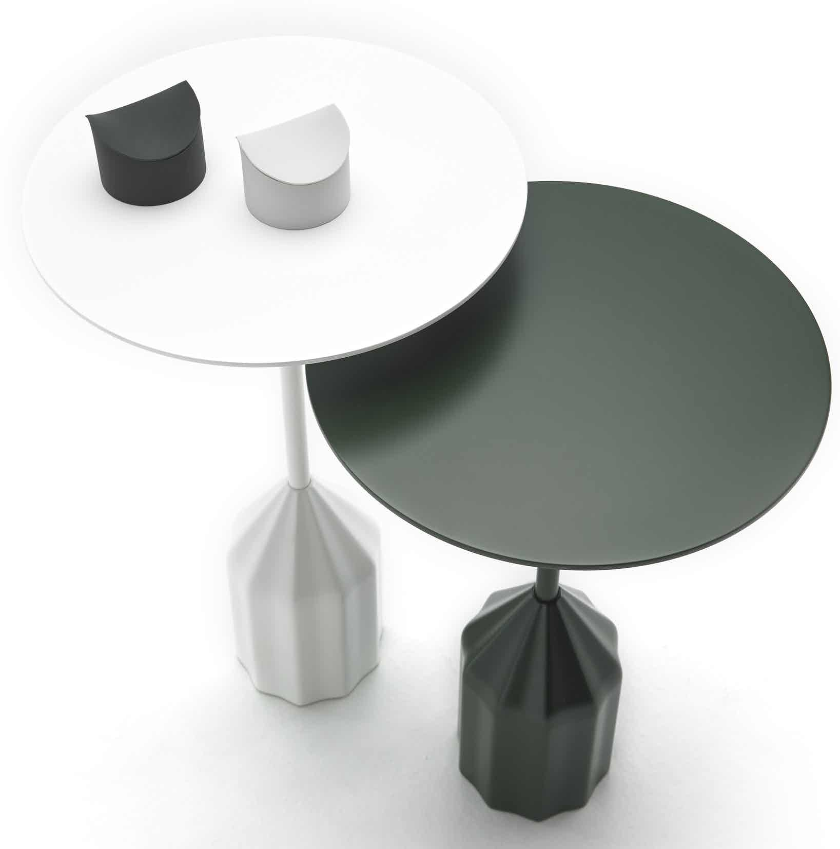 Viccarbe-white-green-burin-table-haute-living