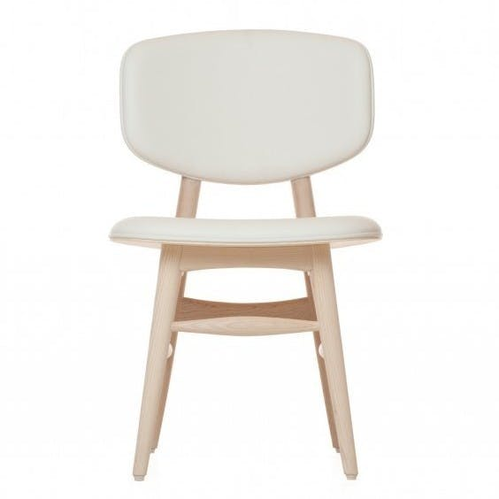 De La Espada Autoban Blutterfly Chair White Oak Front Haute Living