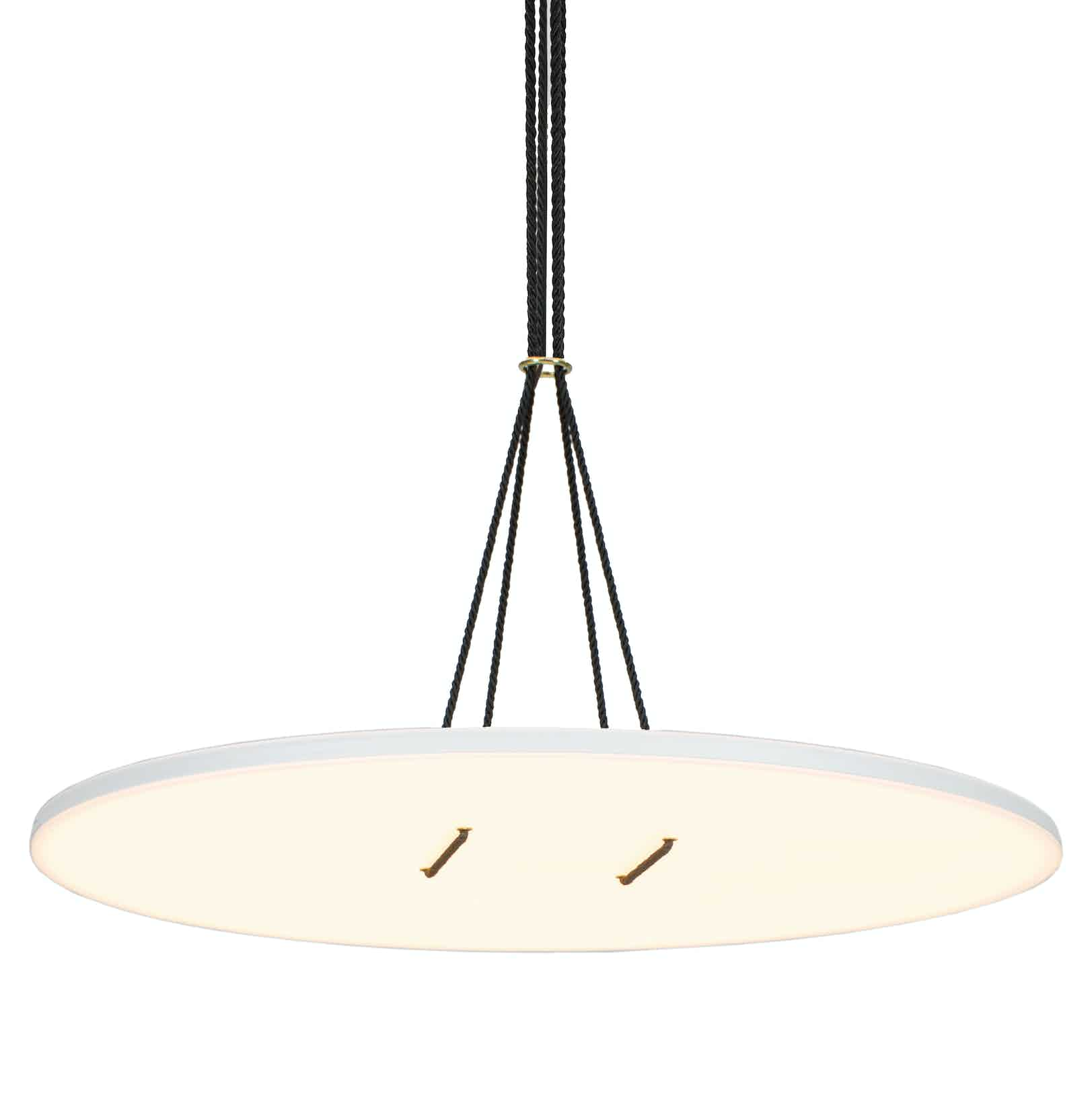 Andlight White Button 90 Pendant Light Haute Living Thumbnail