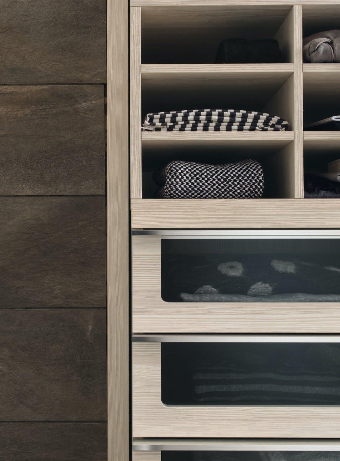 Giellesse Cabin System Drawer Light Wood Haute Living
