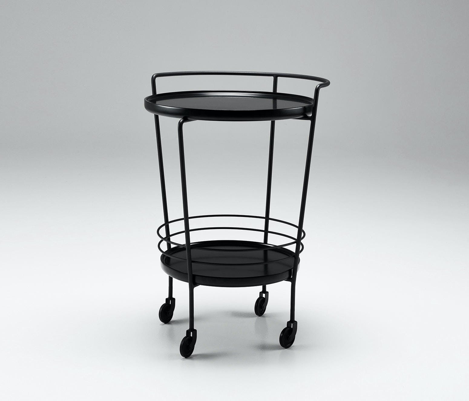 Won Cage Trolley Isolated