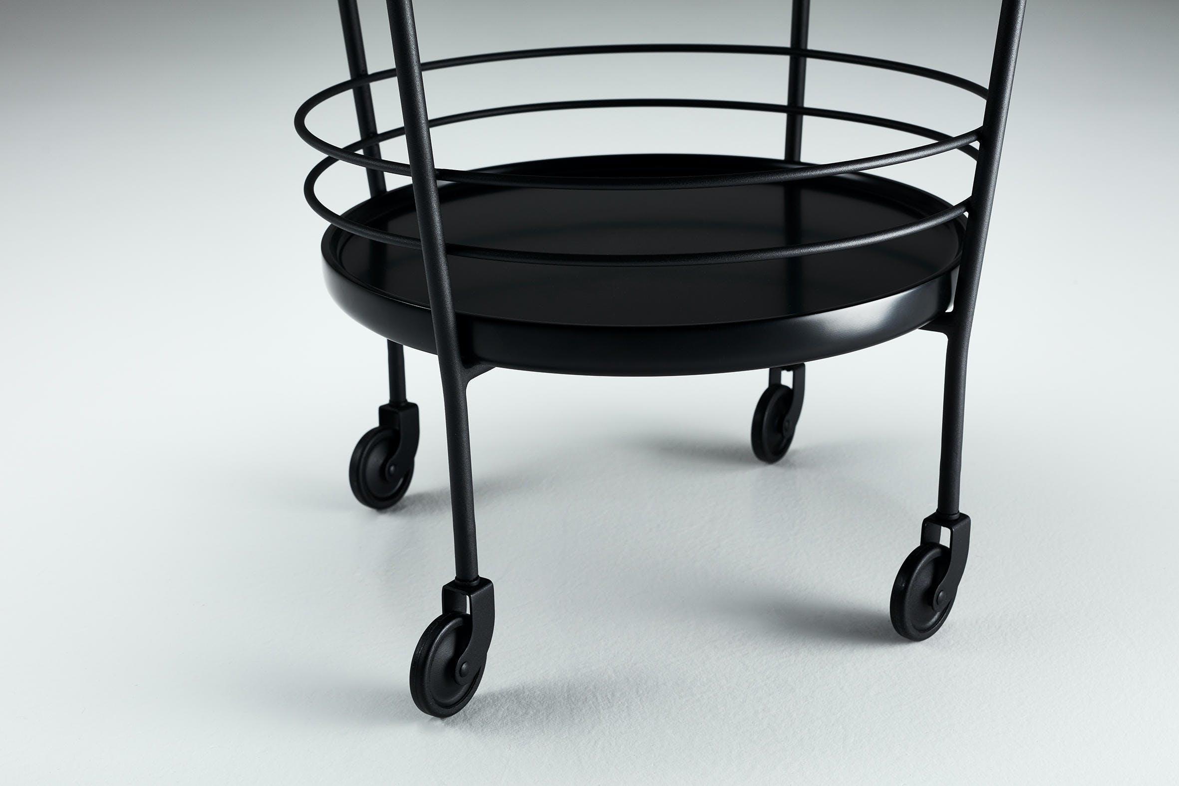 Won Cage Trolley Wheel Detail