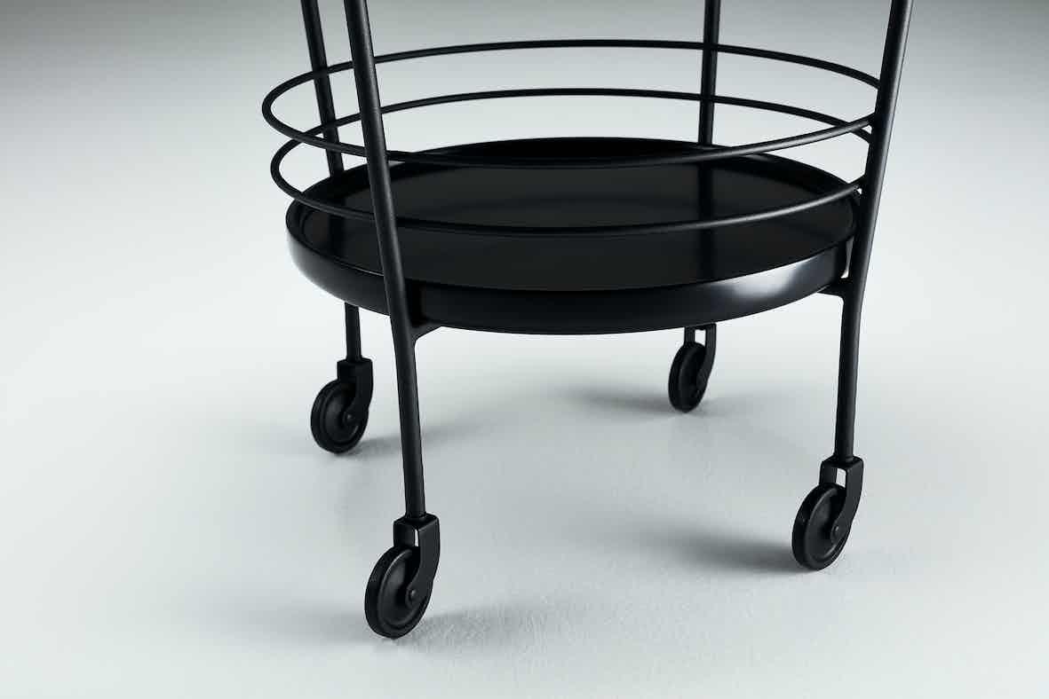 Won-leg-detail-cage-trolley-haute-living