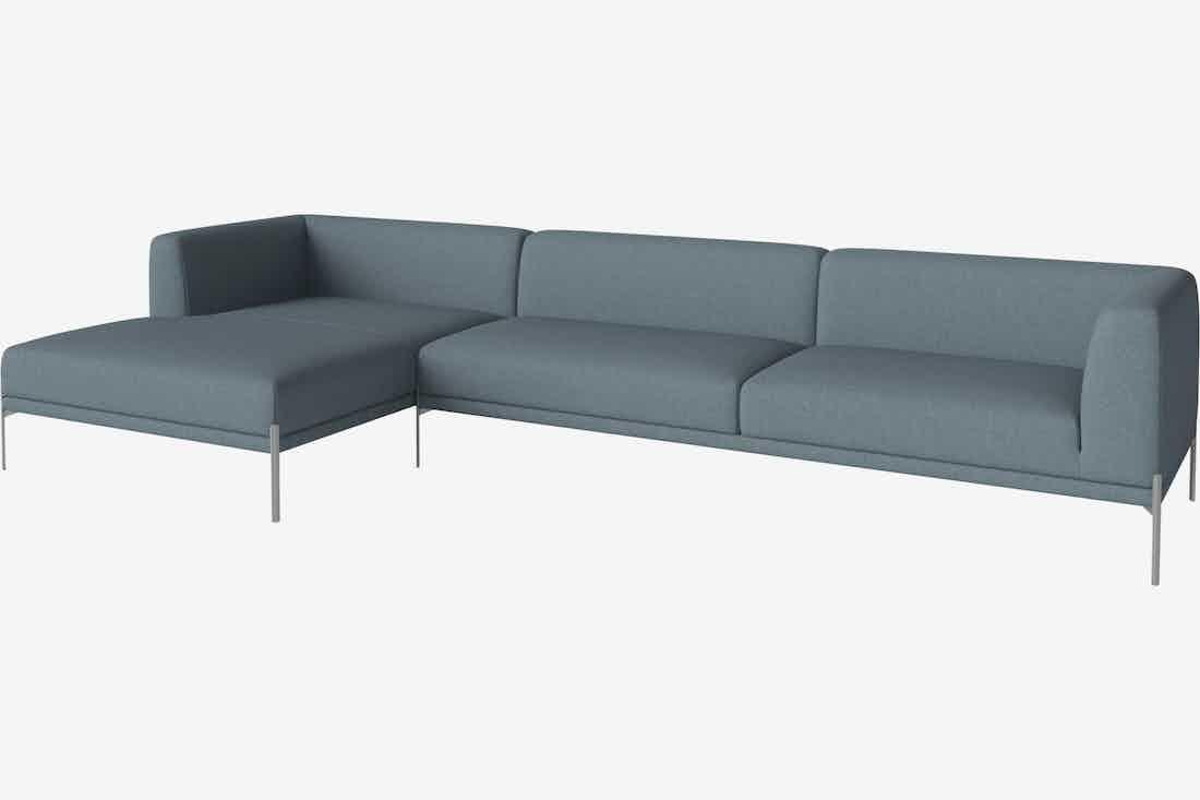 Bolia caisa sofa blue modular haute living
