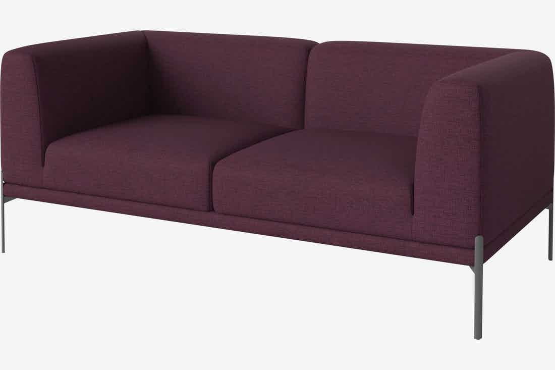 Bolia caisa sofa burgundy haute living