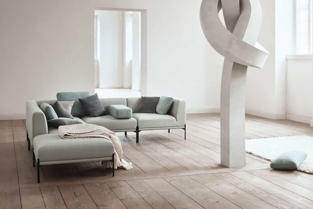 Bolia caisa sofa insitu corner haute living