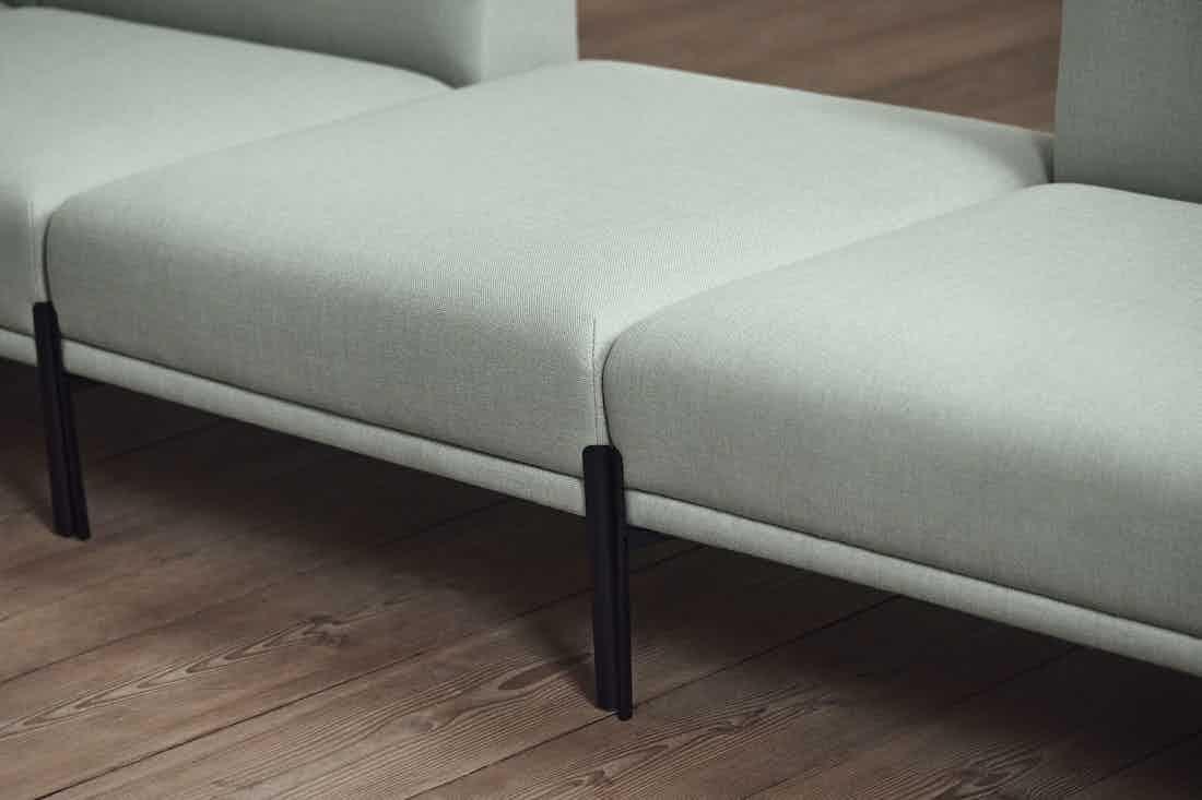 Bolia caisa sofa insitu detail haute living