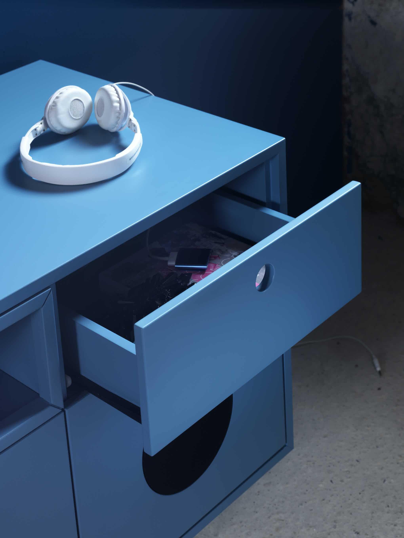 Miniforms Caixa Sideboard Blue Drawer Haute Living